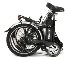 Load image into Gallery viewer, Folding Electric Bike Leitner Libelle Folded Black