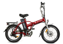 Load image into Gallery viewer, Folding Electric Bike Leitner Tirol Red