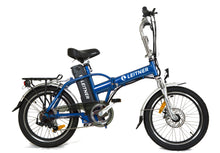 Load image into Gallery viewer, Folding Electric Bike Leitner Tirol Blue