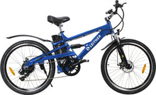 Load image into Gallery viewer, Electric Mountain Bike Leitner CrossX Blue