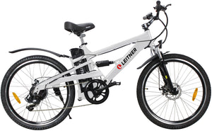 Electric Mountain Bike Leitner CrossX White
