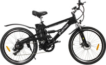 Load image into Gallery viewer, Electric Mountain Bike Leitner CrossX Black