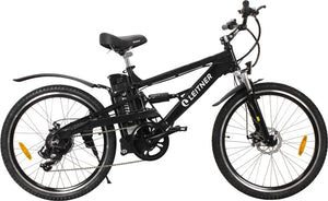 Electric Mountain Bike Leitner CrossX Black