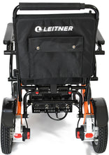 Load image into Gallery viewer, ORANGE Discounted Folding Electric Wheelchair | Leitner BILLI | Signs of usage