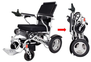 Electric Light-weight Folding Wheelchair | Leitner FRANKIE