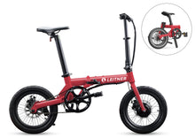 "Load image into Gallery viewer, Discounted 16"" Light-Weight Folding Ebike 