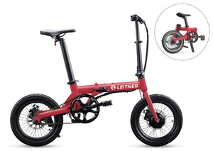 "Discounted 16"" Light-Weight Folding Ebike 