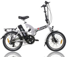 Load image into Gallery viewer, Folding Electric Bike Leitner SuperT Silver