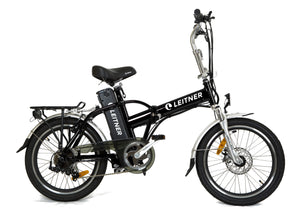 Folding Electric Bike Leitner Tirol Black