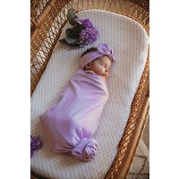 Butterfly Lilac Snuggle Wrap + Headband Gift Box