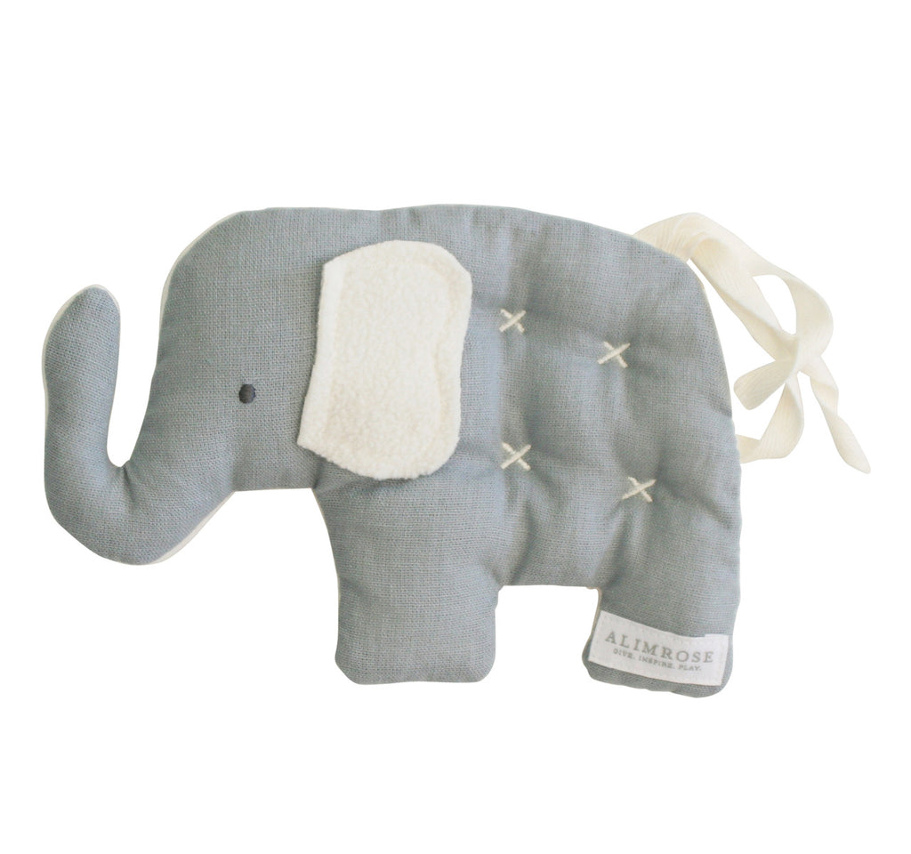 Toby Elephant Comfort Toy - French Grey