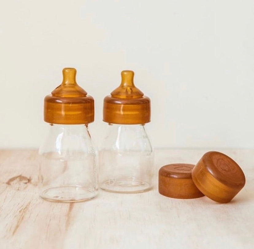 Baby Quoddle Glass Bottle Twin Pack
