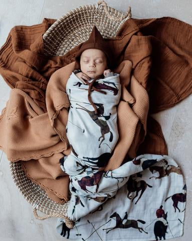 Polo Club Swaddle (Pre-order)