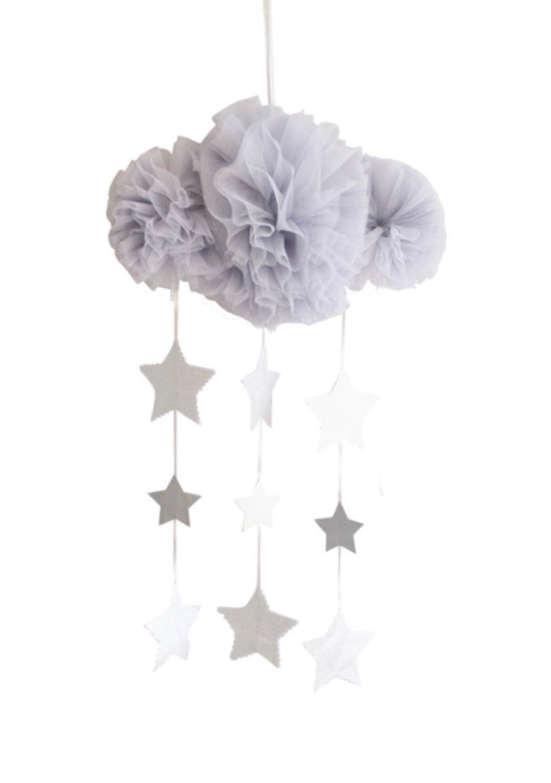Tulle Cloud Mobile Mist & Silver