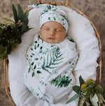 Snuggle Swaddle + Beanie Set - Enchanted