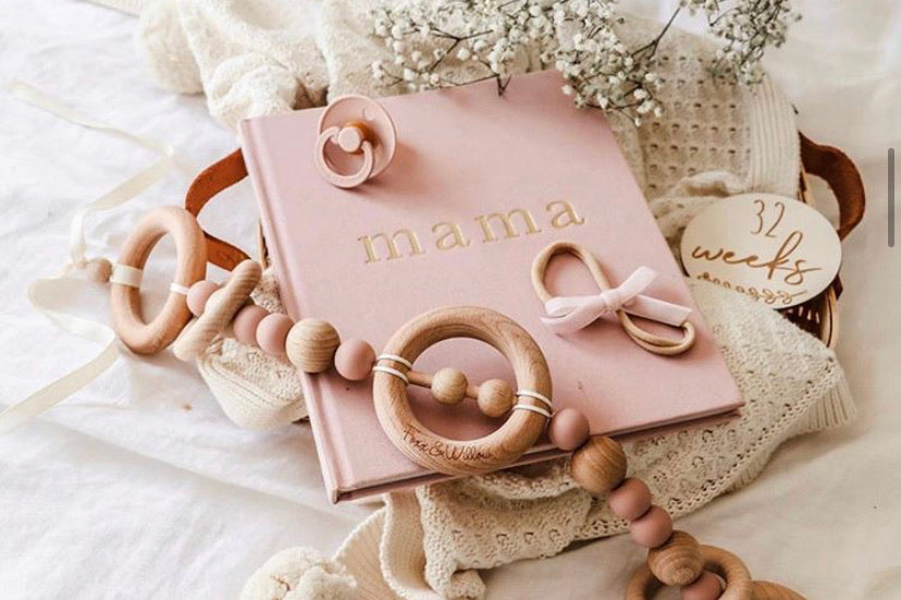 Mama - Tell Me About It Journal (Pink)