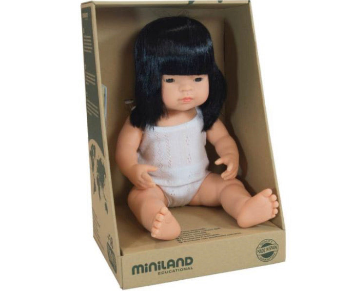 Miniland Asian Girl - 38cm