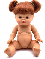 PAOLA REINA GORDIS – REDHEAD DOLL WITH PIGTAILS 34 CM-SUMMER