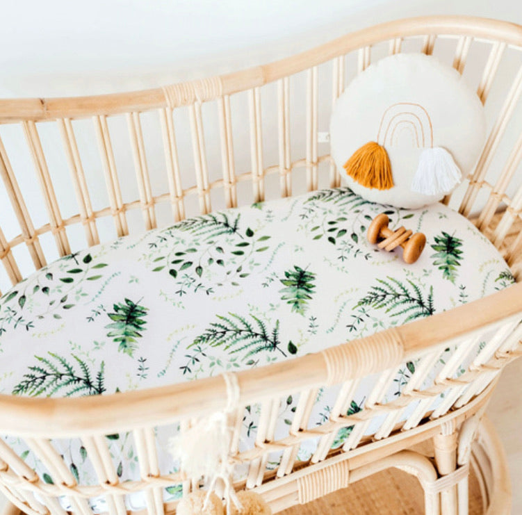 Fitted Bassinet Sheet - Enchanted
