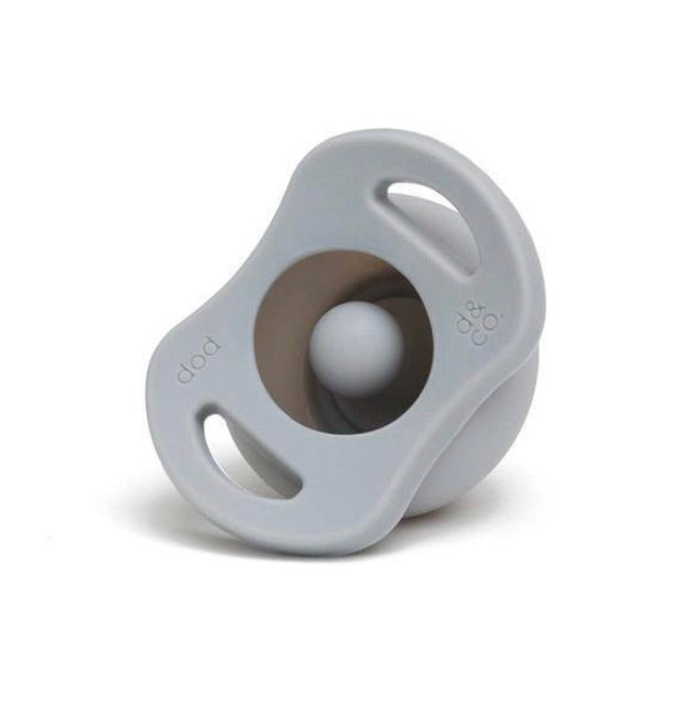 The Pop & Go Pacifier - Oh Happy Grey