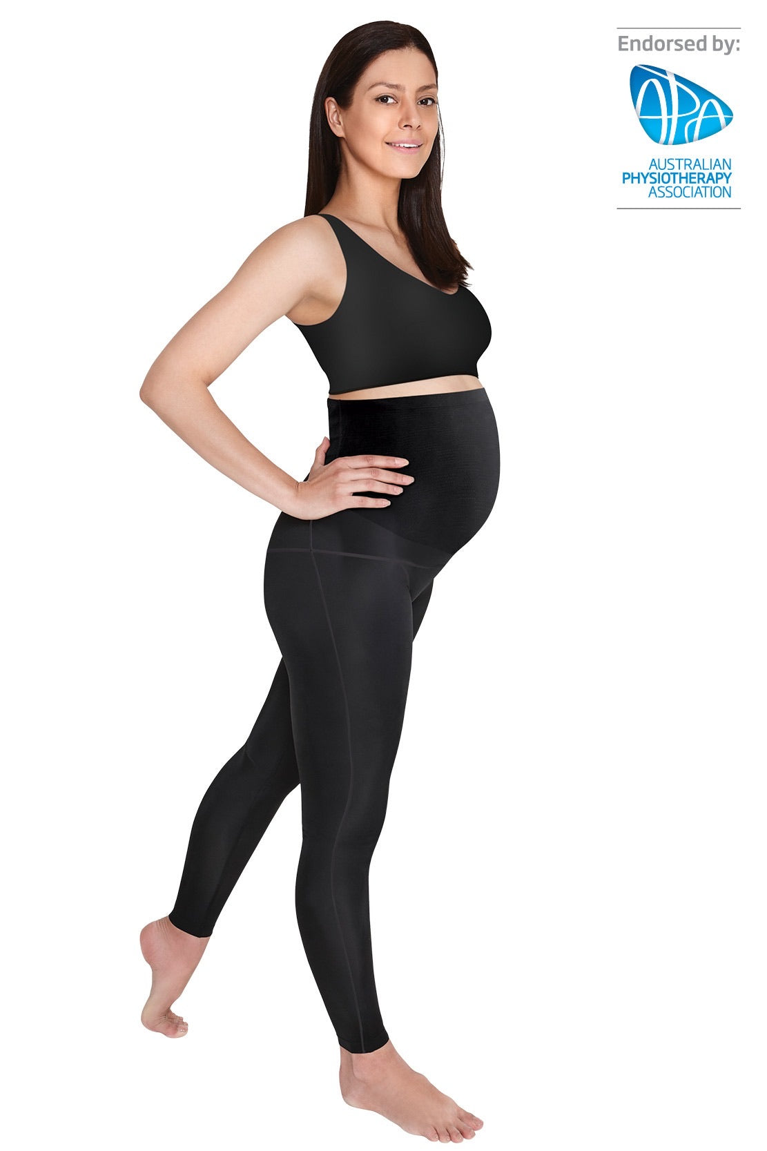 SRC PREGNANCY LEGGINGS - OVER THE BUMP