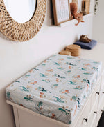 Whale | Bassinet Sheet / Change Pad Cover