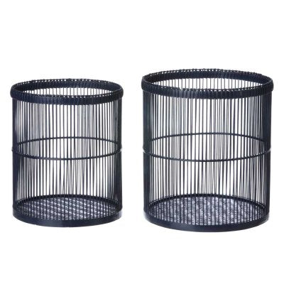 Bamboo Basket - night blue