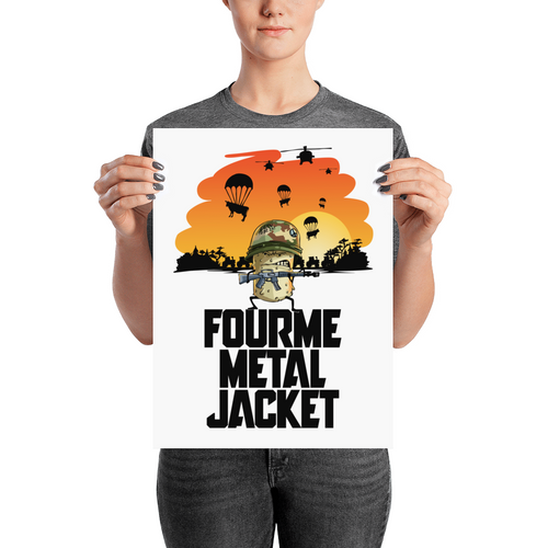 Poster - Fourme Metal Jacket