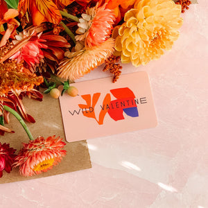 wild valentine physical gift card