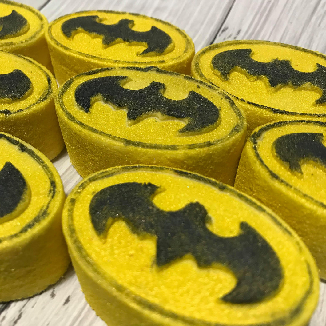 Bat Symbol Bath Bomb Hand Mold