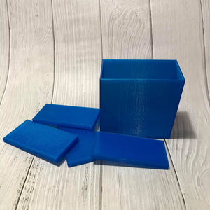 Bar (Rectangle / Square) Bath Bomb Hand Molds (Embed)
