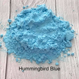 Breaking the Rainbow - Hummingbird Blue