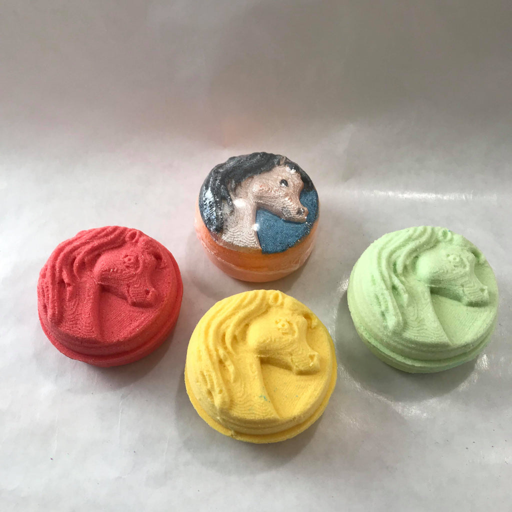 Tablet - Patterned Plates Bath Bomb Hand Mold