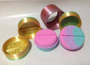 Chill Pill Bath Bomb Press Mold