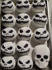 Jack Skellington Bath Bomb Hand Mold