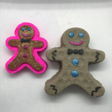 Load image into Gallery viewer, Gingerbread Bath Bomb Hand Mold