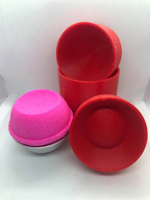 Round with Indent Bath Bomb Hand Mold
