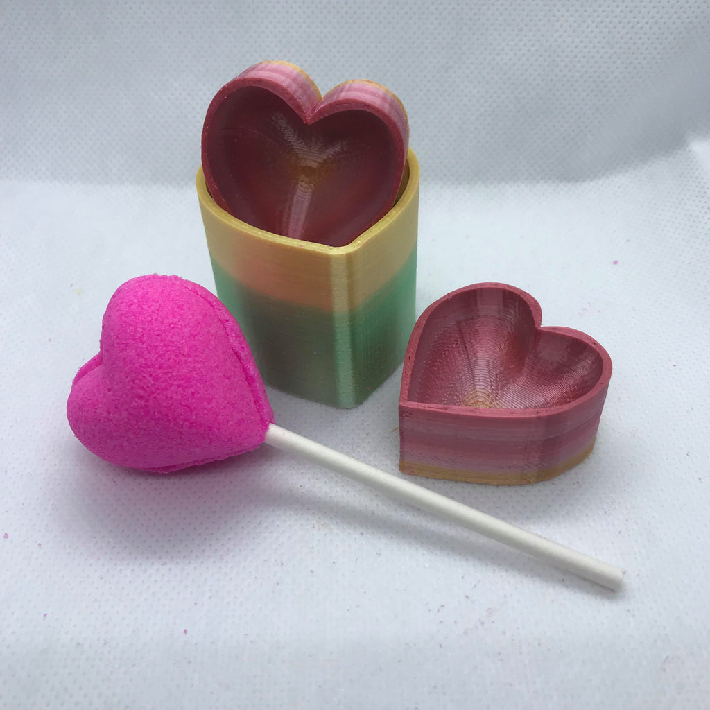 Lollipop Type Bath Bomb Hand Mold