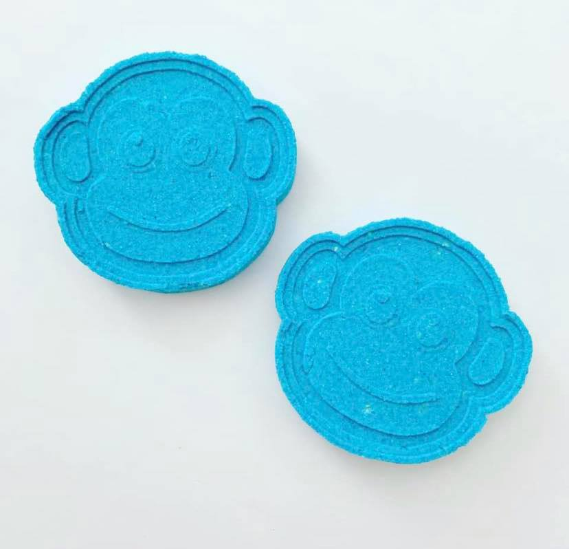 Monkey Face Bath Bomb Hand Mold