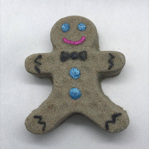 Gingerbread Bath Bomb Hand Mold