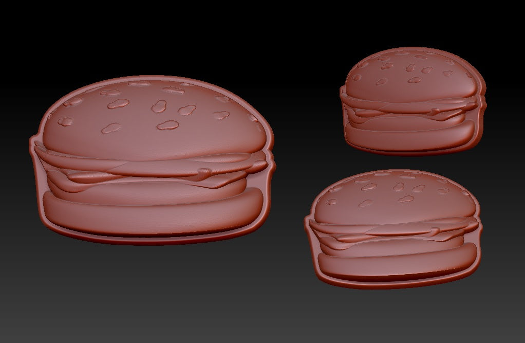 Cheeseburger Vacuum Form Molds