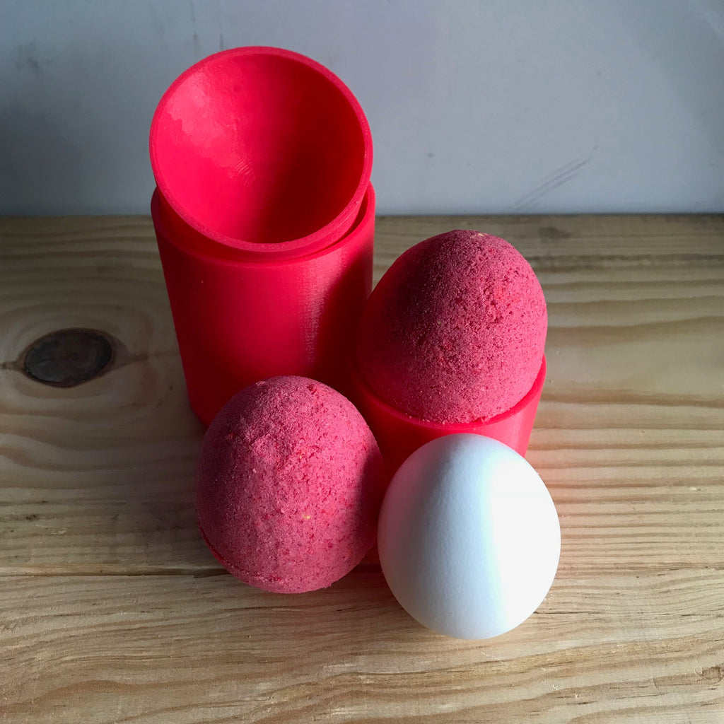 Egg Bath Bomb Hand Mold