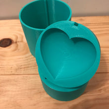 Load image into Gallery viewer, Heart Bath Bomb Press Mold