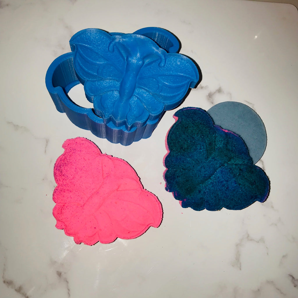 Butterfly Bath Bomb Hand Mold