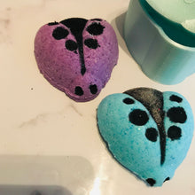 Load image into Gallery viewer, Ladybug Bath Bomb Hand Mold