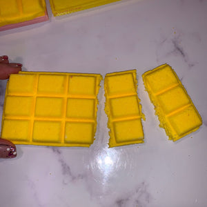 Chocolate Bar Bath Bomb Hand Mold
