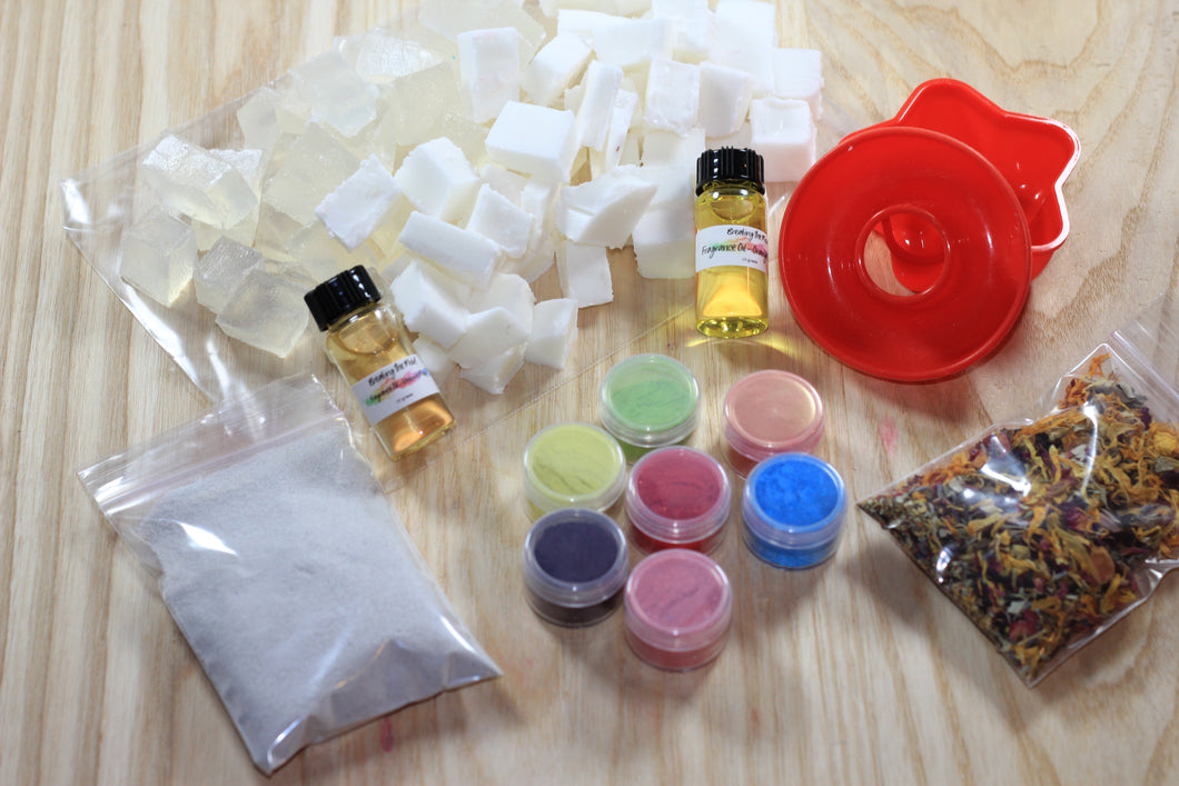 Melt & Pour Soap DIY Kit