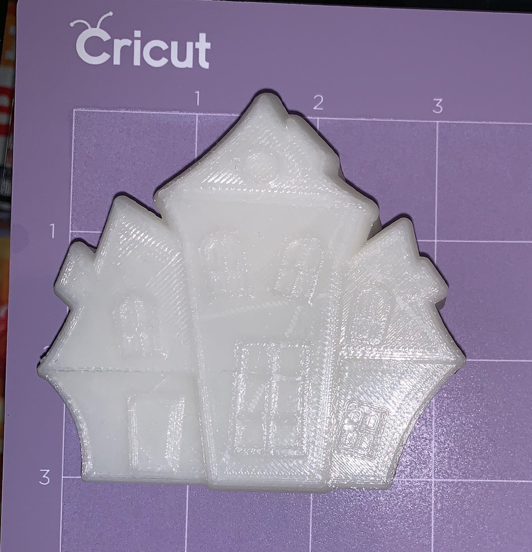 Haunted House Vacuum Form Molds