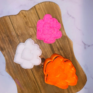 Stacked Hearts Bath Bomb Hand Mold
