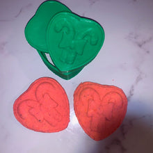 Load image into Gallery viewer, I ♥ Candy Canes Bath Bomb Hand Mold
